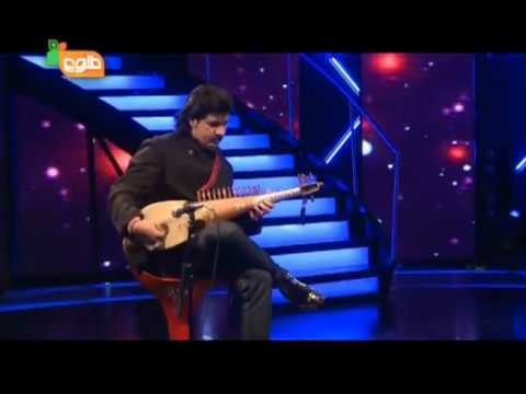 Humayun Sakhi best Rubab from Afghan star show2012