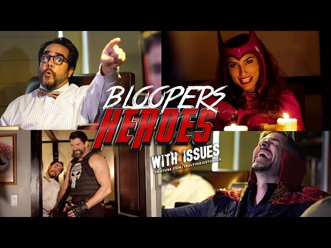 Hilarious Bloopers with Doctor Strange & Friends! (Heroes With Issues)