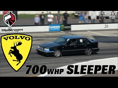 700whp Sleeper Volvo 850R Dyno & Roll Racing