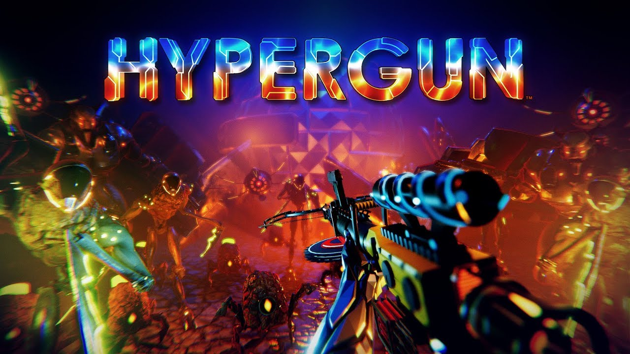 HYPERGUN - Neon-soaked roguelike announcement trailer, coming Summer 2018