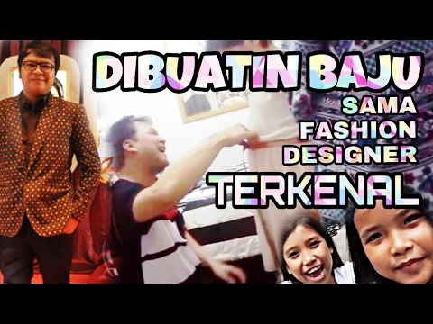 Bv2k Di Buatin Baju Sama Fashion Designer Terkenal Di Indonesia Youtube