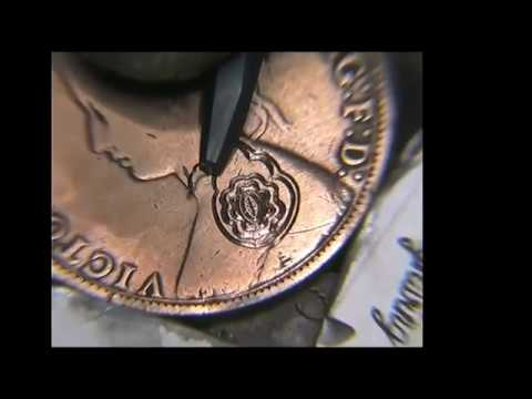 Hand Engraving Victorian Flowers with the Homemade hand Engraving machine
