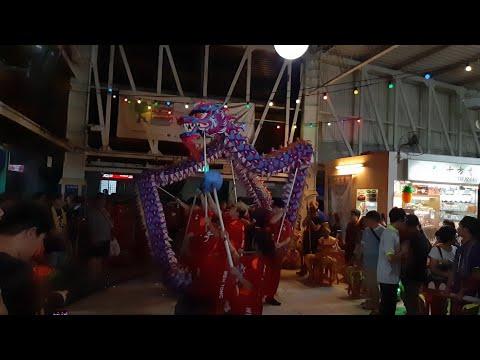 Singapore Wen Yong Dragon and Lion Dance Cai Qing Performances at AMK Central Ave 6 BLK  724