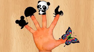 Песенка про Пальчики - Учим животных! Детские песенки для самых маленьких детей Finger Family Songs