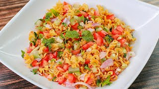 Maggi Bhel Recipe | Instant Snack Recipe | Noodles Snacks | Masala Maggi | Street food | Toasted