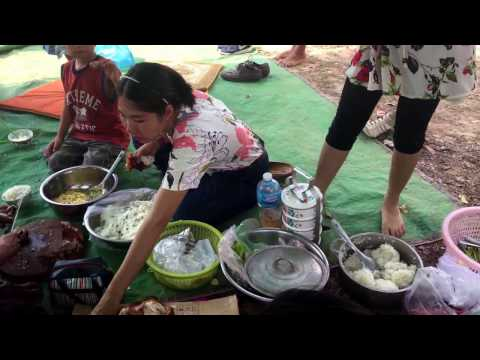 Country Foods, Cambodian Culture, Family Eating Video, Happy Time With Family