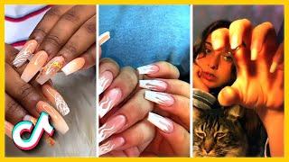 Beautiful Nail Transformation | Acrylic Nail Art Designs | TikTok Compilation