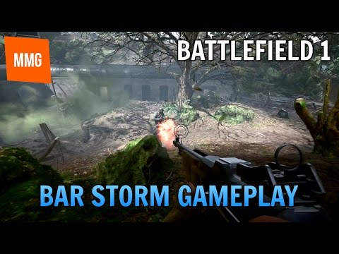BF1: BAR Storm - Argonne Forest Flanking (PS4 Pro HD 60FPS Gameplay Commentary)