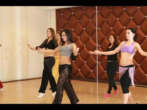 Танец живота. Видео урок №2 для начинающих с нуля. (Мира Зауйа)