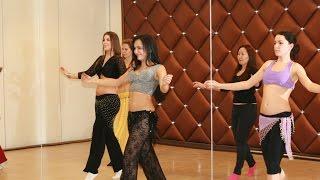 Танец живота. Видео урок №2 для начинающих