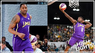 Tracy McGrady & Nate Robinson Highlights at 2018 NBA Celebrity All-Star Game (2017.02.16)