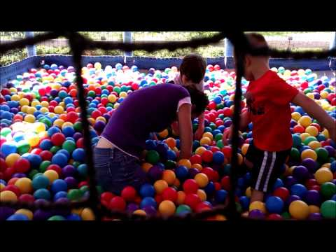 How to find a lost cell phone in a giant ball pit youtube