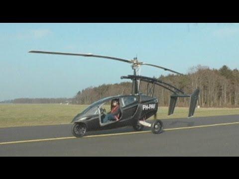 euronews hi-tech - Von tollkühnen Männern in fliegenden Autos