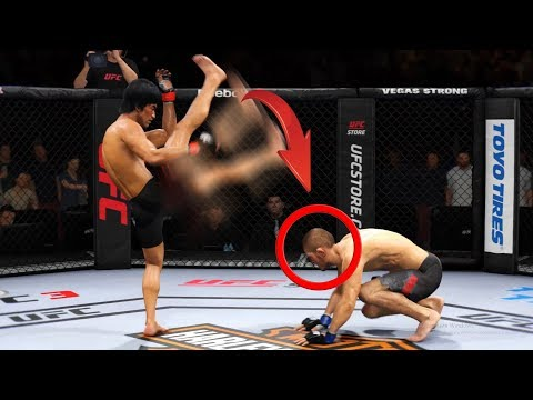 17 Нокаутов БРЮС ЛИ которые УДИВИЛИ весь МИР / Bruce Lee knockouts UFC