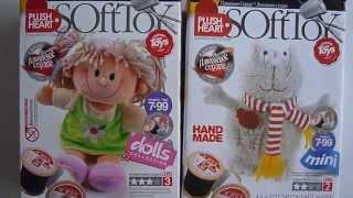 Обзор наборов для шитья мягких игрушек.