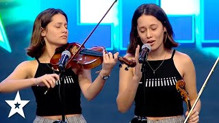 AMAZING Violinist Sings Lady GAGA on Got Talent Uruguay 2020 | Got Talent Global