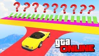 1001 РАМПА! КАКАЯ ИЗ НИХ ДОВЕДЕТ ДО ФИНИША? ГОНКИ GTA 5 ONLINE ( ГТА 5 ГОНКИ )