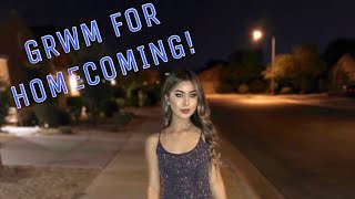 GRWM FOR HOMECOMING! 2018