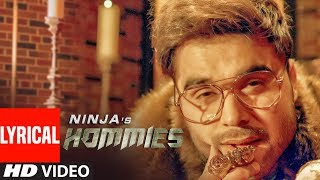 Hommies Ninja Ft Mr DEE Full Lyrical Song Western Penduz Jerry Sukh Latest Punjabi Songs