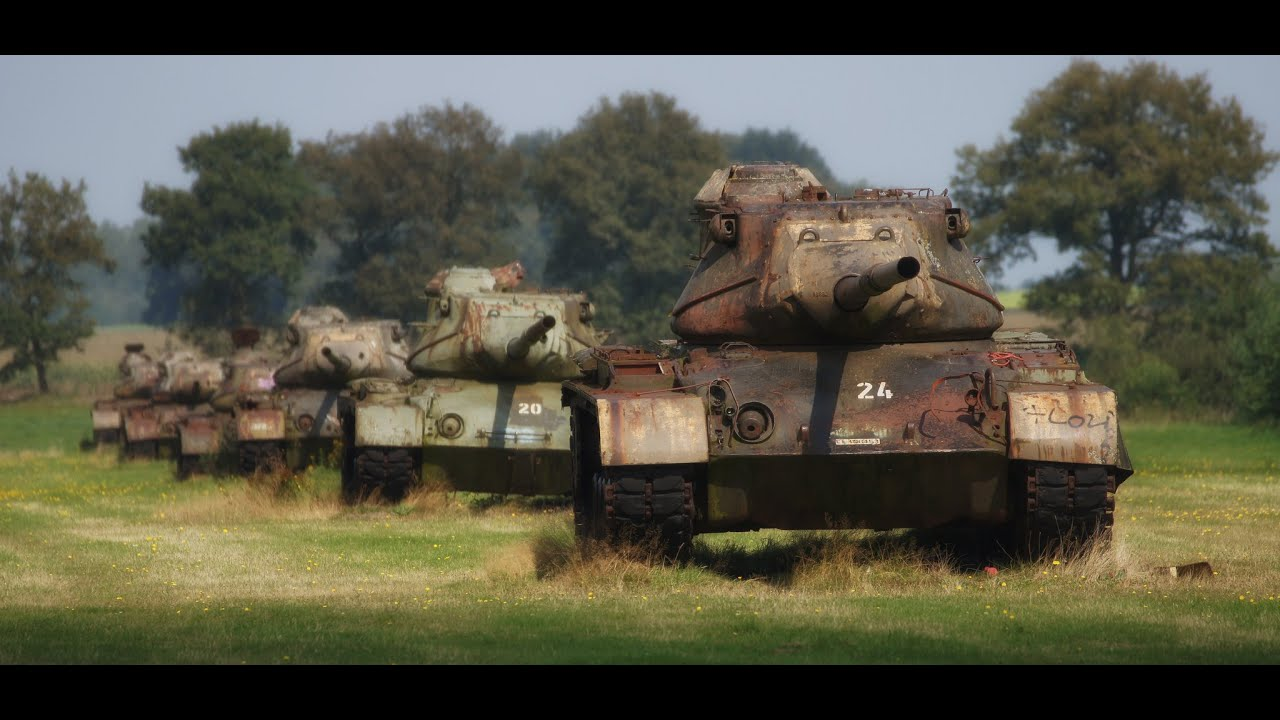 Army Vehicles For Sale >> Free Tank? Abandoned Tank Wrecks Part 7 - YouTube