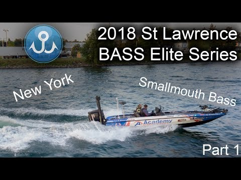2018 St Lawrence River New York Bass Elite Series | Wheeler Fishing Episode 20