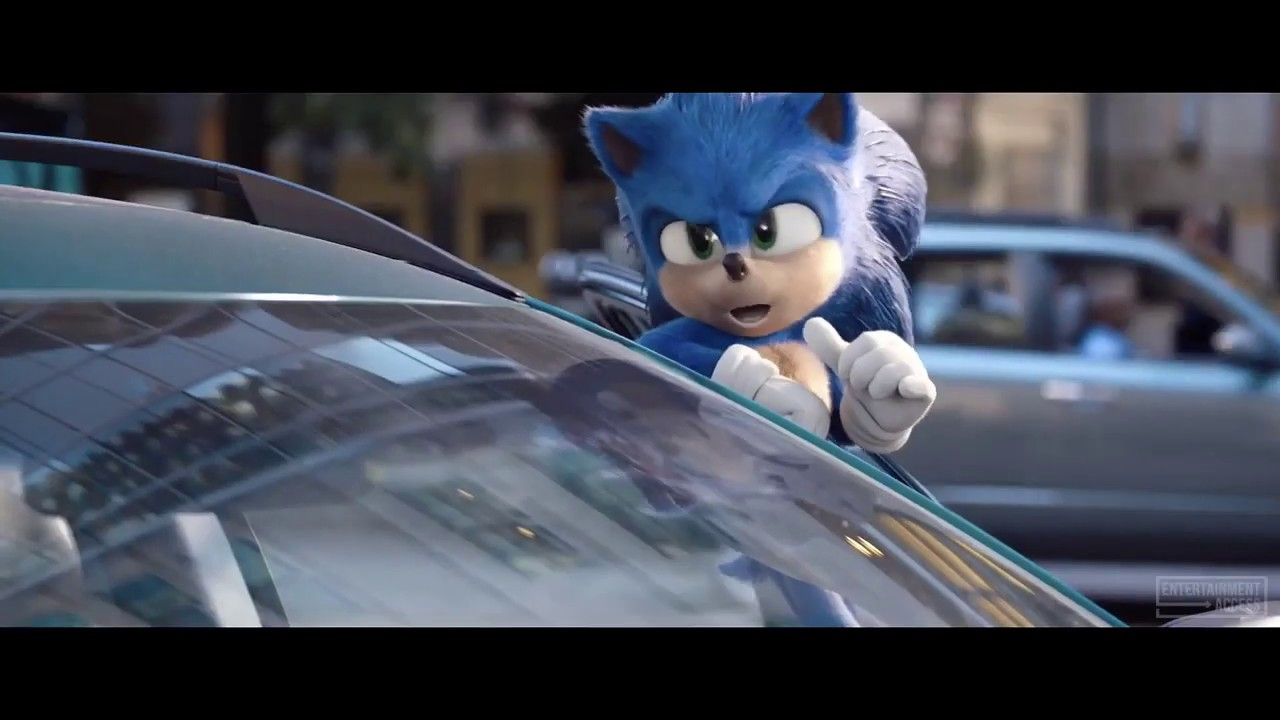 Sonic the Hedgehog Movie - Sonic's Driving A Vehicle - TV Spot (HD)