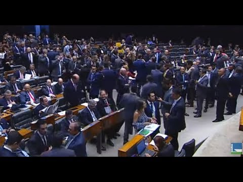 TV Câmara - Análise da denúncia contra o presidente Michel Temer