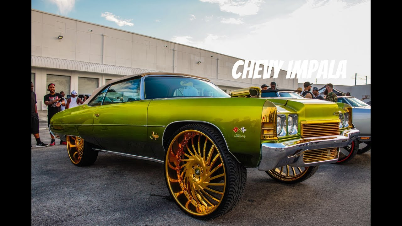 Nasty Candy 72 Chevy Impala On 30 Inch Asanti Wheels In Hd Must See Youtube