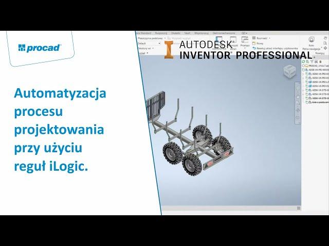Autodesk Inventor - Automatyzacja procesu projektowania przy użyciu reguł iLogic. | NetCafe