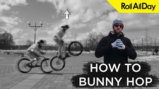 Банихоп на велосипеде - как и зачем. Разбор от Бочарова и Шичкина. How to bunny hop