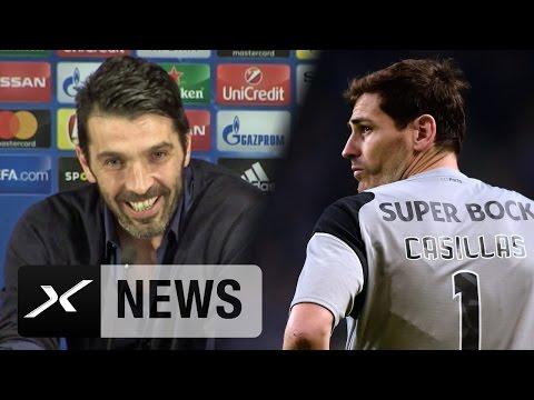 "Gianluigi Buffon: Iker Casillas? ""Treffe einen Freund"" | Juventus - FC Porto"
