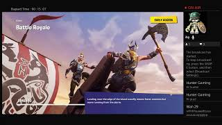 Playing fortnite with wah 29 /Geting wins