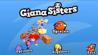 Giana Sisters 2D [Intro Music] PC-HD