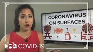 How long does the coronavirus stay on certain surfaces?