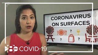 How long does tнe coronavirus stay on certain surfaces?