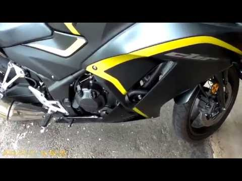 CBR300R,CB300F Oil & Filter Change with Fairing Removal