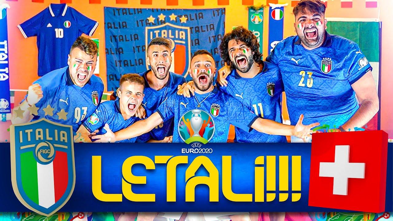 LETALI!!! 🇮🇹 ITALIA 3-0 SVIZZERA🇨🇭 | LIVE REACTION ELITES HD