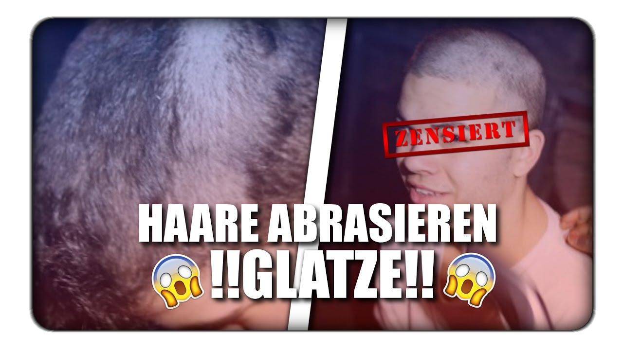 Rasieren sklavin glatze Sklavin Zur