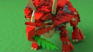 Lego 4892 - Prehistoric Power triceratops