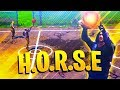FIRST EVER H.O.R.S.E Basketball GAME MODE IN FORTNITE! CRAZY TRICK SHOTS! FORTNITE BATTLE ROYALE