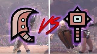 Monster Hunter World: Hammer VS Great Sword