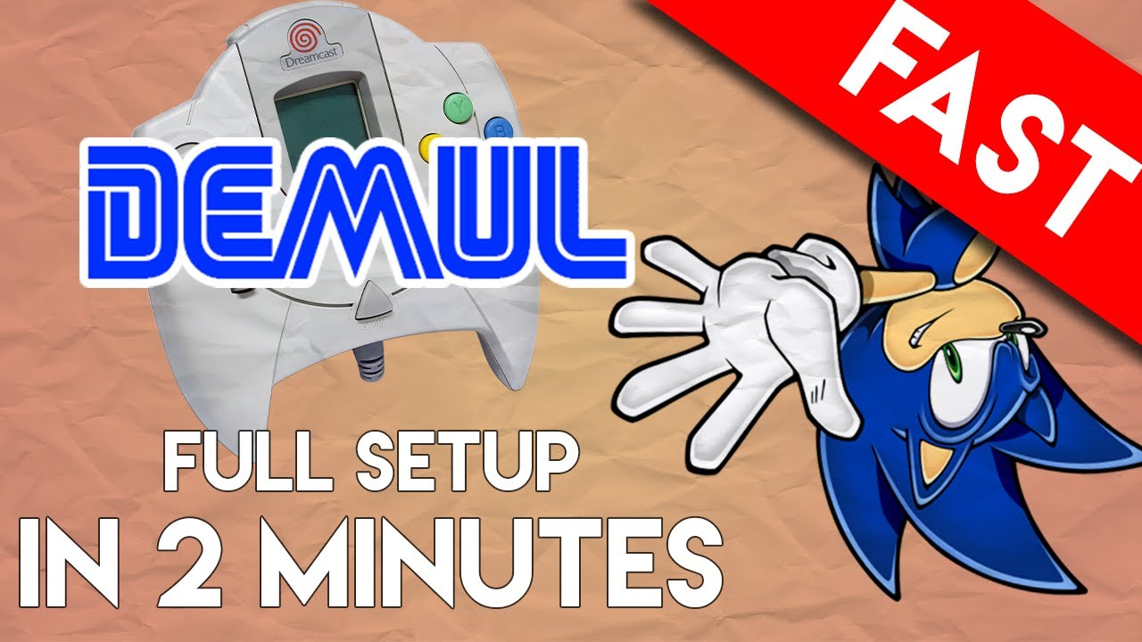 DEMUL Emulator for PC: Full Setup and Play in 2 Minutes (Sega Dreamcast  Emulator)
