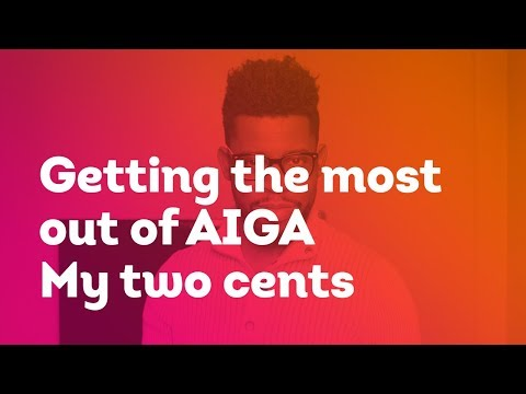 My two cents about AIGA the professional association for design. Should you join?