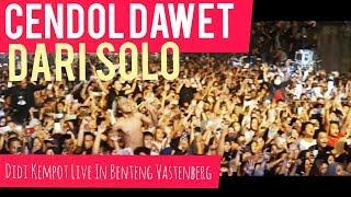 CENDOL DAWET DARI SOLO - Didi Kempot Live in Solo