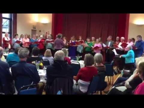 Traquair choir sings Karine Polwart's 'Follow the Heron Home'