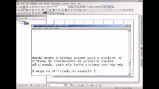 Configurar sistema de coordenadas ArcGIS 10.1