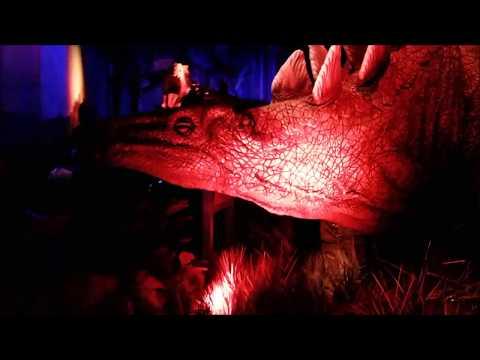 Jurassic World Exhibit at Field Museum Indominous Rex