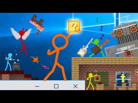 Animation vs. Minecraft Shorts Season 2 - All Episodes (15-19) - Alan Becker