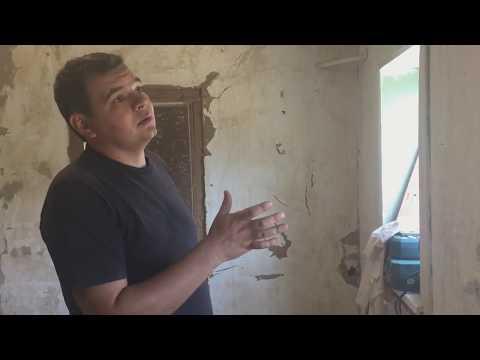 видео: Ремонт в саманном доме, подготовительные работы