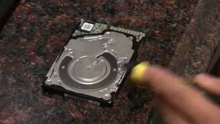 Whats happening in an Hard Drive making clicking noises and wont boot